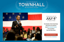 Pres. Obama discusses foreign aid at Twitter town hall