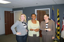 Maryland members visit Rep. Edwards' office