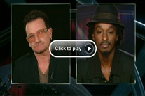 Bono and K&#8217;naan discuss famine with CNN&#8217;s Anderson Cooper