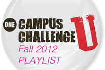 ONE Campus' 2012 Fall Music Playlist