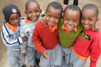 Amazing Africa: Smiles all around