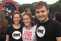 Rocking against poverty at the Global Citizen Festival