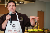 Top Chef Hosea Rosenberg joins ONE in Denver for World Food Day
