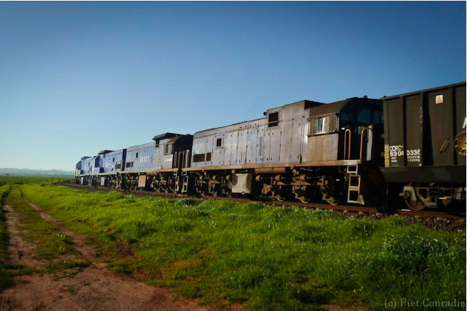 A-List: Coal train to South Africa