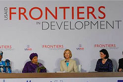 USAID's Frontiers in Development Forum highlights the work of women leaders