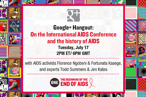 Join our Google+ Hangout on the history of AIDS