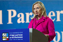 Hillary Clinton awarded for transparency awareness
