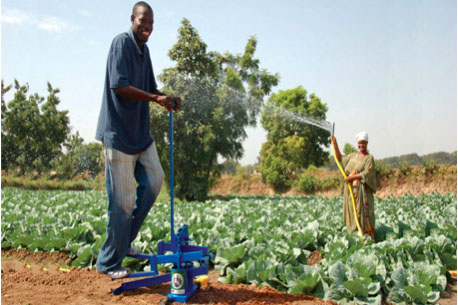 Pumping away poverty in Kenya