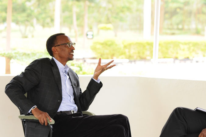 Kagame: &#8216;People don&#8217;t eat debates, they eat food&#8217;