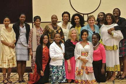 Social media, networking and African womens leadership training in Rwanda