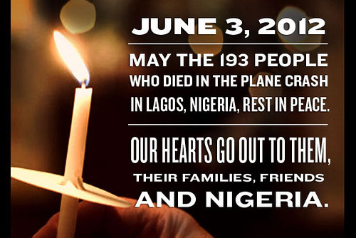 Remembering those who died in the Lagos plane crash