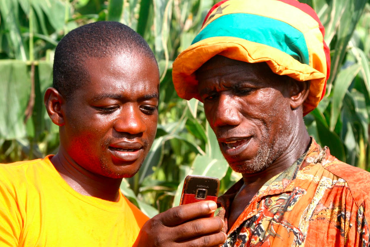 Mobile apps for better crops in Ghana