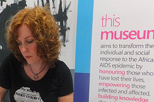 A first look at the Museum of AIDS in Africa with founder Stephanie Nolen