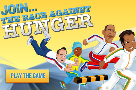 The Race Against Hunger, our new online game