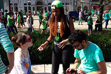 Chicago volunteer dishes on her St. Paddy's Day with ONE