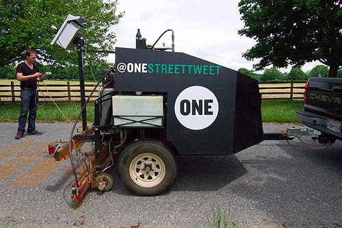 Photos: Our ONE Street Tweeter in action