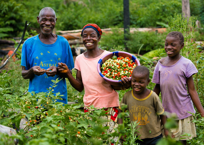 Building momentum on the Hill for Global Food Security