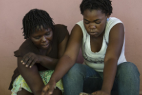 With grease and wrenches, Haitian women upend stereotypes