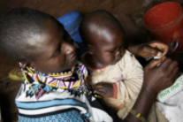 Witness this Kenyan mom of six say NO to malnutrition