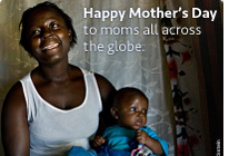 15 do-gooder actions you can take to support global moms on Mother's Day
