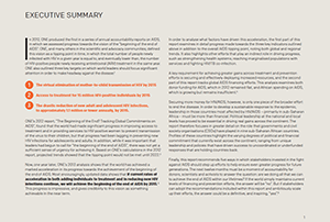AIDS Report: Executive Summary