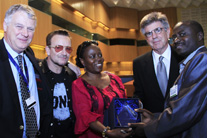And the winner of the 2013 ONE Africa Award is… ANSAF of Tanzania!