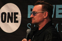 Power Summit starts with a surprise visit from Bono