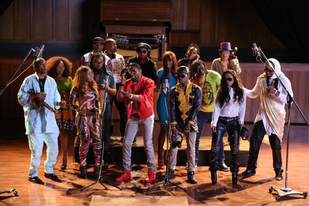The 19 African artists from ONE's Cocoa Na Chocolate music collaboration. 6 of them will be in DC for the Summit.