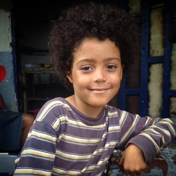 A boy in Monrovia, Liberia.