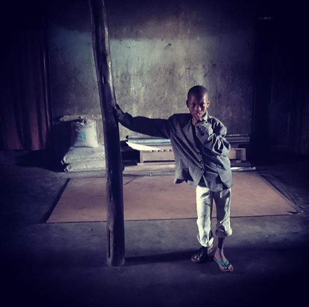 In Sierra Leone, near the Liberian border