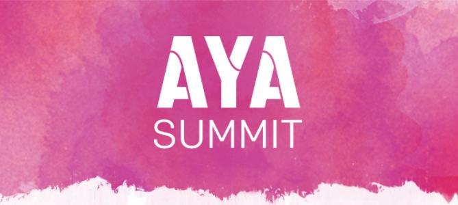 Flip board AYA Logo purple