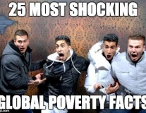 25 most shocking global poverty facts