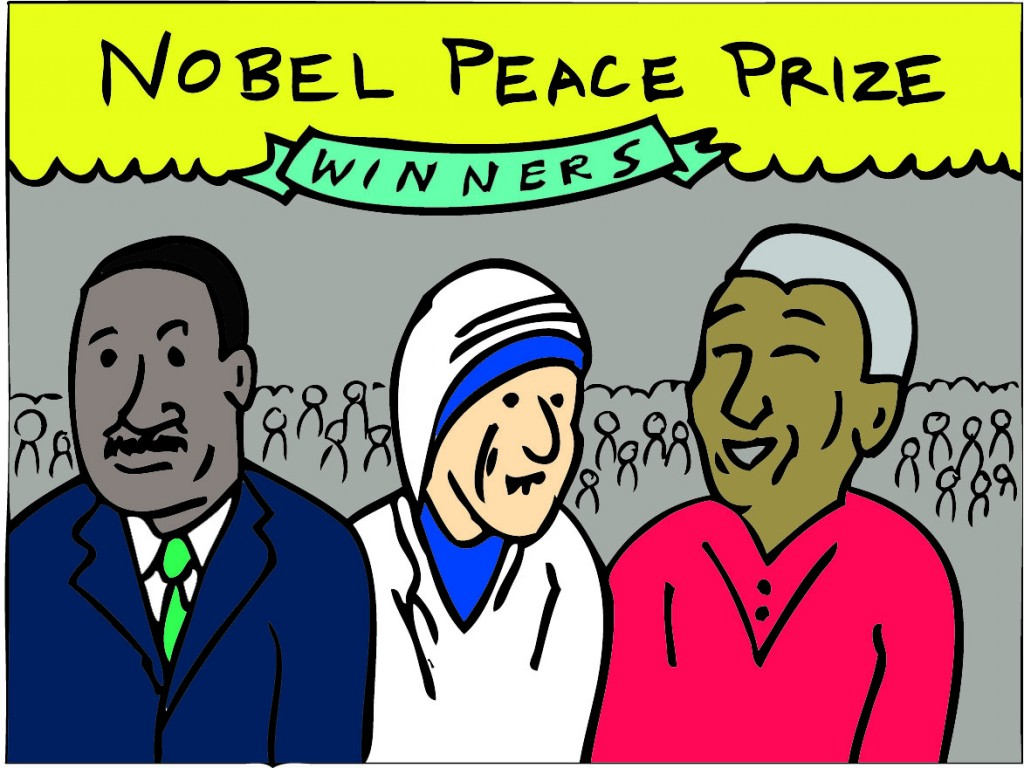 2 - Nobel Peace Prize cartoon