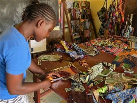 What textile entrepreneurship has to do with community health and Ebola