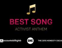 Honesty Oscars 2015: Best Activist Anthem