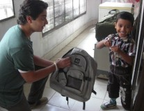 Bags to Riches: Empty backpacks fill students' lives