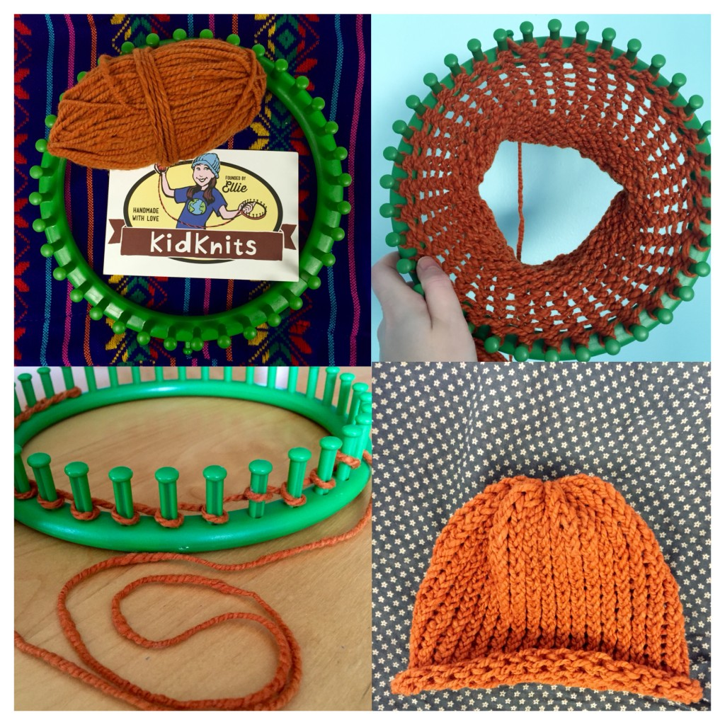 My kit and finished hat! -Anna Lemberger