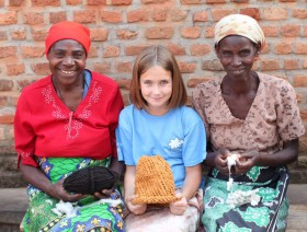 One 9 year old's dream for changing the world — with knitting