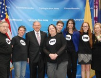 Celebrating trailblazing women with Senators Menendez and Gillibrand