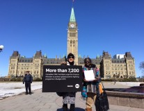 16,500 Canadian ONE members take action