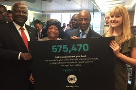 Ebola petition delivered to 3 African Presidents