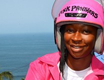 Stronger in Pink: Meet Liberia's First Female Fleet of Motorcycle Taxi Drivers