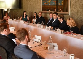 Bono and ONE Meet with Leaders in Ottawa