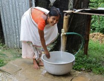 PHOTOS Part 3: Matt Damon illustrates the impact of Water.Org programs in India