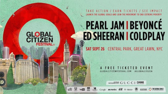 Recap of the Global Citizen Festival in New York City!