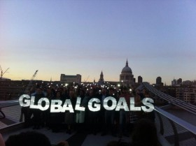 People across the globe joined together to #LightTheWay!