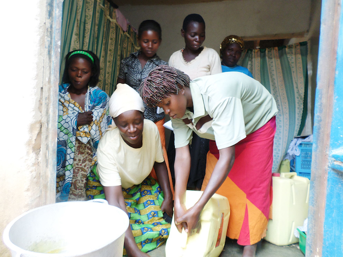 4 ways a recycled bar of soap is creating change in Uganda