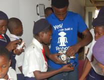 Welcome to Nigeria's first robot school!