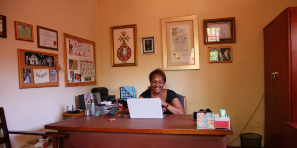 Marie Da Silva, founder of the Jacaranda Foundation. (Photo credit: Jacaranda Foundation)