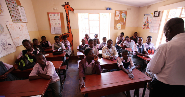 A classroom at the Jacaranda School. (Photo credit: Jacaranda Foundation)